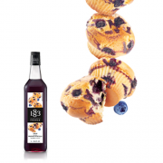 1883 Maison Routin Syrup 1.0L Blueberry Muffin
