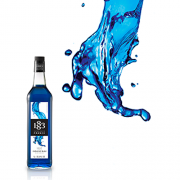 1883 Maison Routin Syrup 1.0L Blue Curacao
