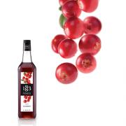 1883 Maison Routin Syrup 1.0L Cranberry