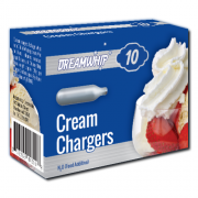 Dreamwhip Cream Chargers N2O 10 Pack (10 Bulbs)