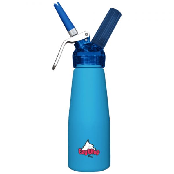 Ezywhip Pro Cream Whipper 0.5L Blue 10 Pack x 6 (60 Bulbs)