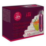 iSi Professional Cream Chargers N2O 8.4g 10 Pack (10 Bulbs)