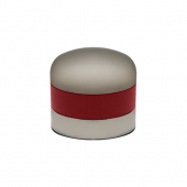 Mosa Thermo Stainless Steel Cream Whipper Cap Red