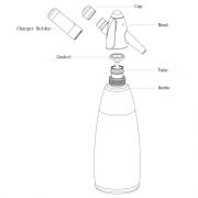 Mosa Soda Syphon Part Bottle 1.0L