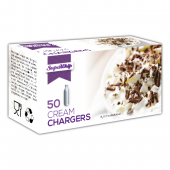 Supawhip Cream Chargers N2O 50 Pack x 60 (3000 Bulbs)